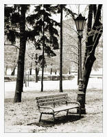 Winter in park 2 by agguska2