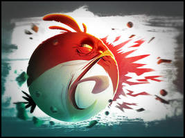 The Angry Bird by SkiddMcMarxx