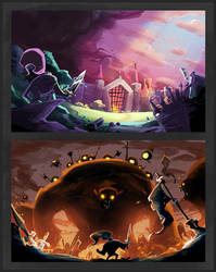Game Pitch Concepts by SkiddMcMarxx