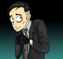 Milton feeling Uneasy by Boos-girl666