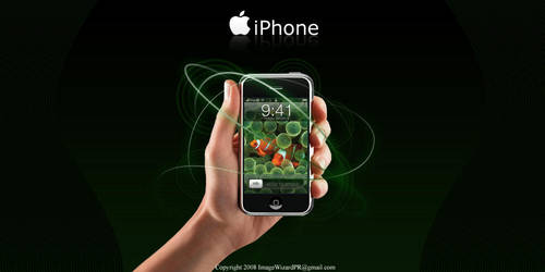 Apple iPhone Ad Design 01 by ImageWizard