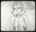 Zoro(sin pintar) by ShayTheHedgehog97