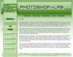 Photoshop Lab Template by moDesignz