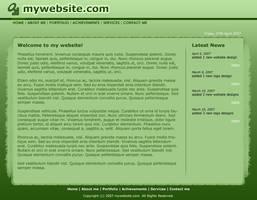 Personal Web Layout by moDesignz