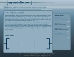 Personal Web Layout 2 by moDesignz