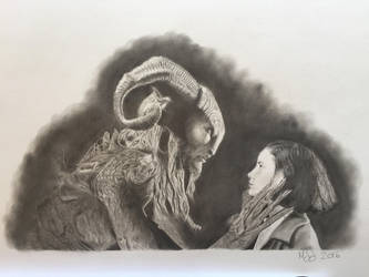 Ofelia and the Faun by 70ms