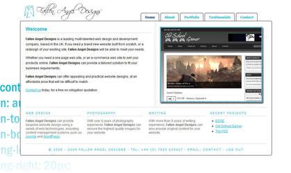 Fallen Angel Designs v2.0 by sonicalpha