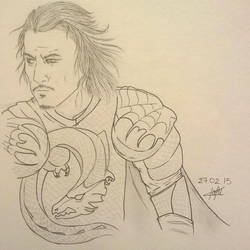 Son of the Dragon - Luke Evans by Kafu47