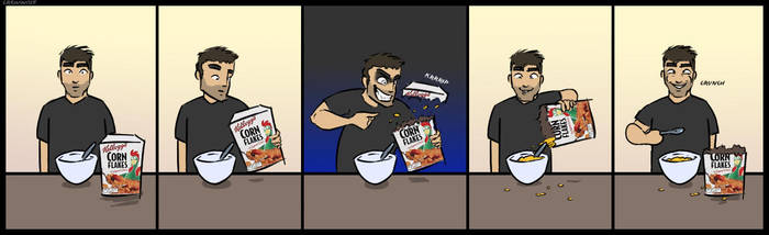 Sylar: Cereal Killer by crewwolf