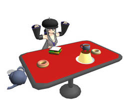 MMD Table DL by AbsentWhite