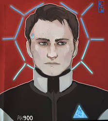 [Detroit: Become Human] RK900 by M-F-W
