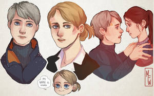 [Detroit: Become Human] The Mother by M-F-W