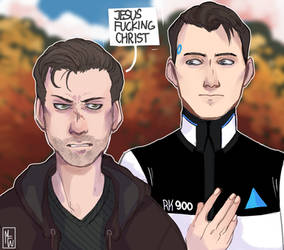 [Detroit: Become Human] NOT-PARTNERS by M-F-W