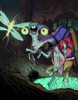 A Careless Entomologist by Kilcra