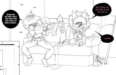 Aftermath of a Double K.O. - WIP by Kilcra