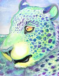 Purple Turtle Leopard by kookybat