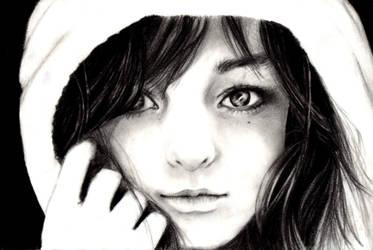 Quick sketch portrait by MirielDesign