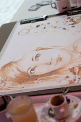 Coffee Painting G10 by MirielDesign
