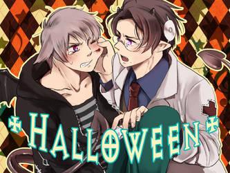 PrsAut Halloween by shidouaoi