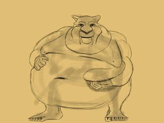 Fat Diego 20 by Shote543