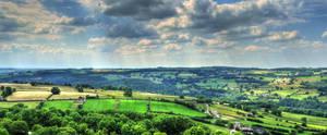 Derbyshire Landscape by MattEdson