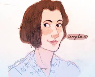 Angela Darmody by ohwellthen
