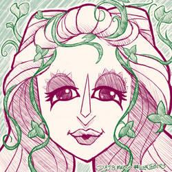 Linktober Day 8 - Mask by ChristaDoodles
