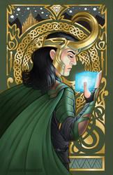 Loki Nouveau by ChristaDoodles