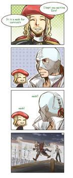 mask? by tatsuri