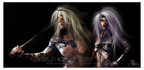 Warrior Born by CatsEye-Photography