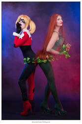 Harley Quinn e Poison Ivy by Maxsy66