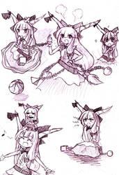 Sketch Dump 17 : Sueeka by miwol