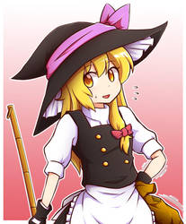 Suspicious Witch by miwol
