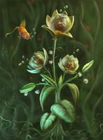 Aquarian flower by Svezhaya