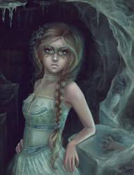 The cold lady by Svezhaya