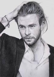 Chris Hemsworth by ekota21
