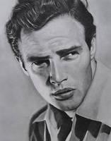 Marlon Brando by ekota21