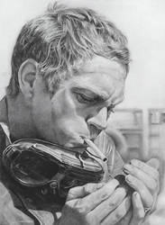 Steve McQueen by ekota21