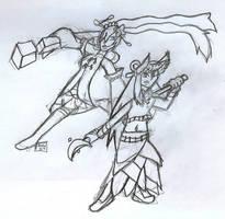 Commission [DestinytoMoon's Nebula and Angel Aura] by Retro7