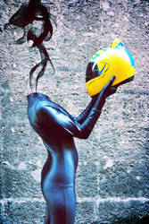 Celty Cosplay by ScarletWitch42