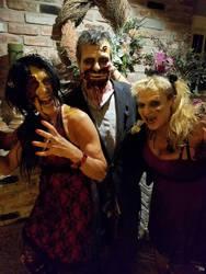 Zombie Prom makeup 2016 by hollygwynn