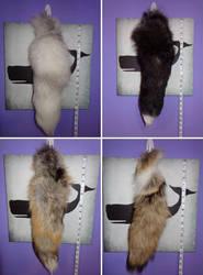 New Real Fur Tails by hollygwynn
