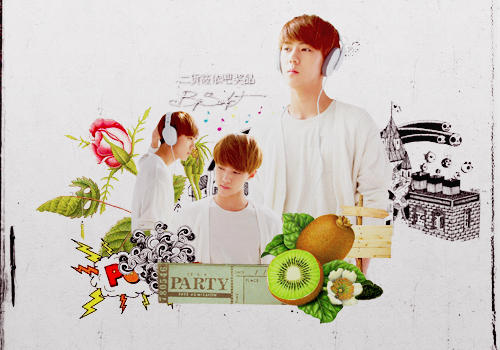 Sehun collage by SwifT-98