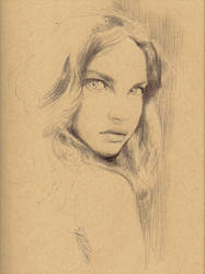 Natalia Vodianova by Strooitje