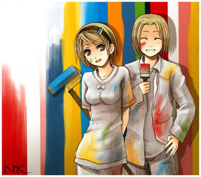APH Double Trouble by Radittz