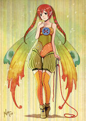 Patchwork Fairy by Radittz