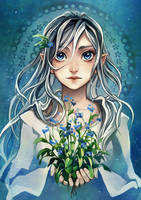 Forget me not by Radittz
