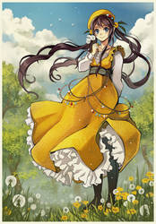 Dandelion dress by Radittz