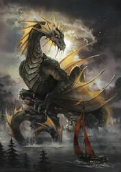 Sea Dragon by Radittz