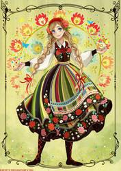 Polish Rainbow by Radittz